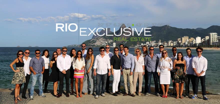 Equipe agência Rio Exclusive