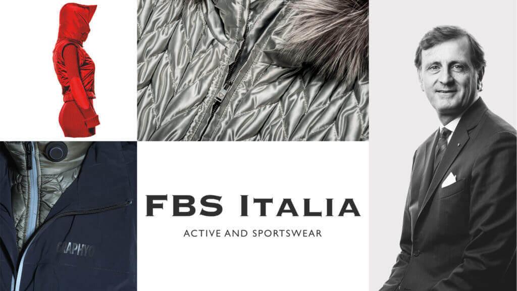 Stefano Festa Marzotto e il logo di FBS