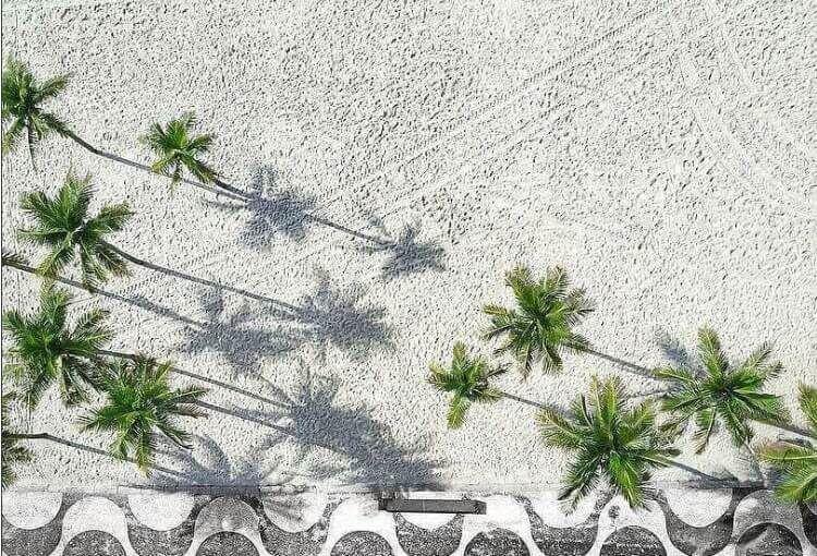 lungomare di Ipanema a Rio