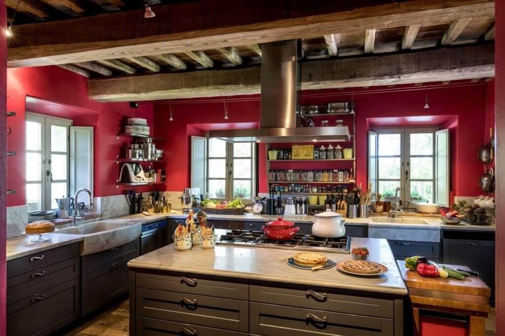 Cucina Agriturismo Casa Fabbrini Toscana
