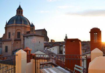 Vista tetti dall'altana