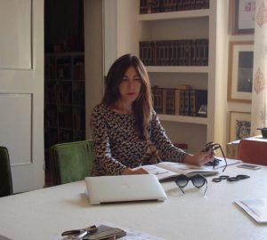 Paola Gambini no seu escritório