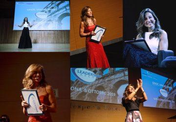 Patrizia La Daga sul palco di Leadership Arena