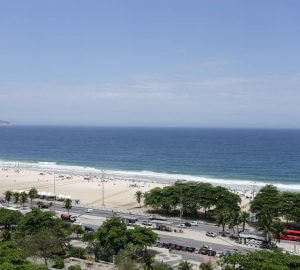 Vista oceano dall'appartamento
